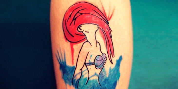Tatuaje de ariel