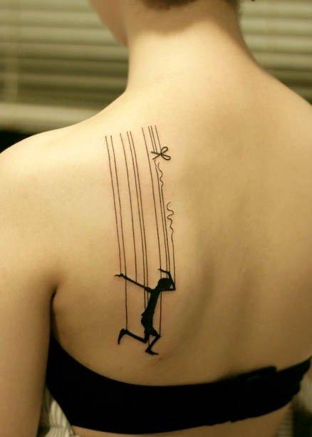 Tatuaje de pinocho