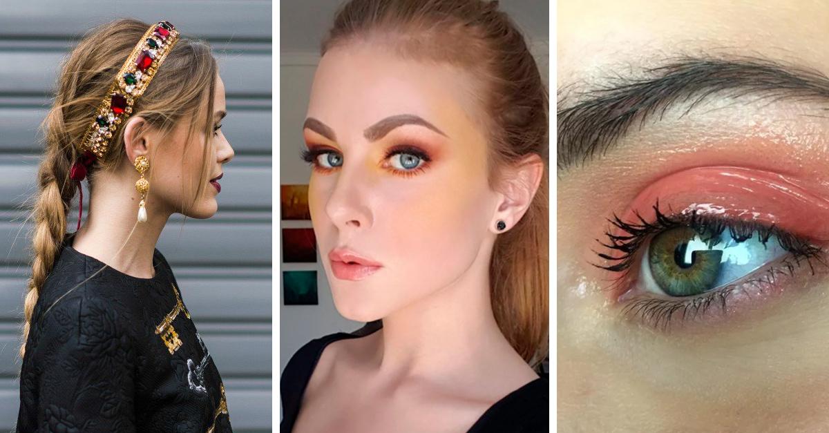 Tendencias de maquillaje y peinado