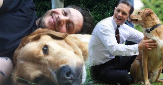 Tom Hardy escribe una emotiva carta para decir adiós a su perrito Woodstock