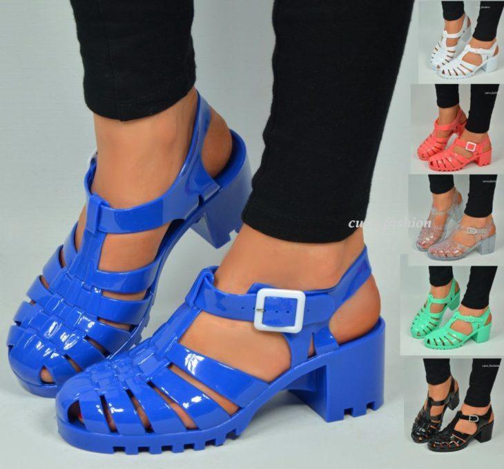 Sandalias de los 90's