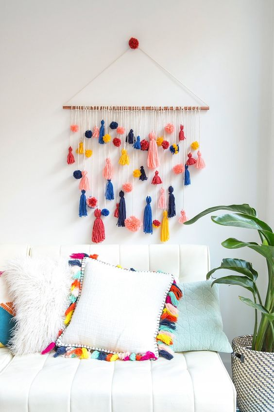 pompon cortina