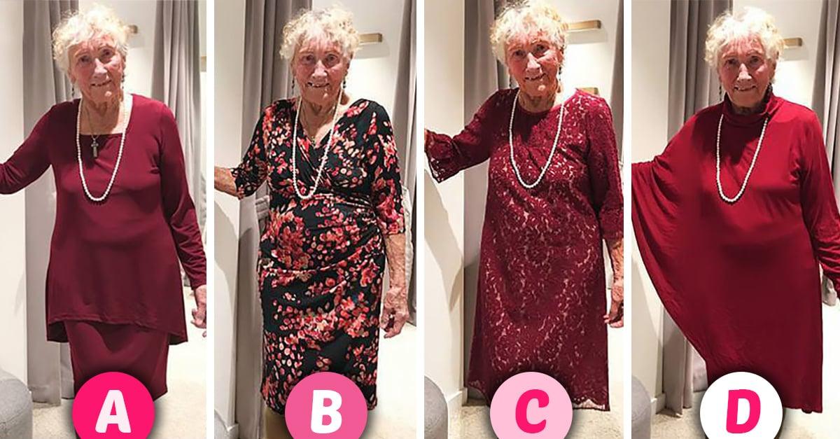 Abuelita de 93 años pide ayuda a Internet para elegir su vestido de novia; todos apoyan