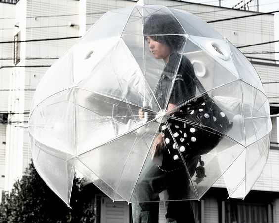 sombrilla burbuja