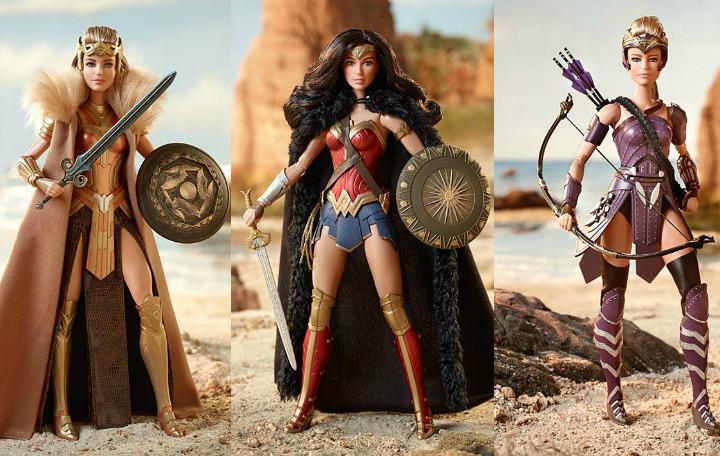 muñecas barbie mujer maravilla