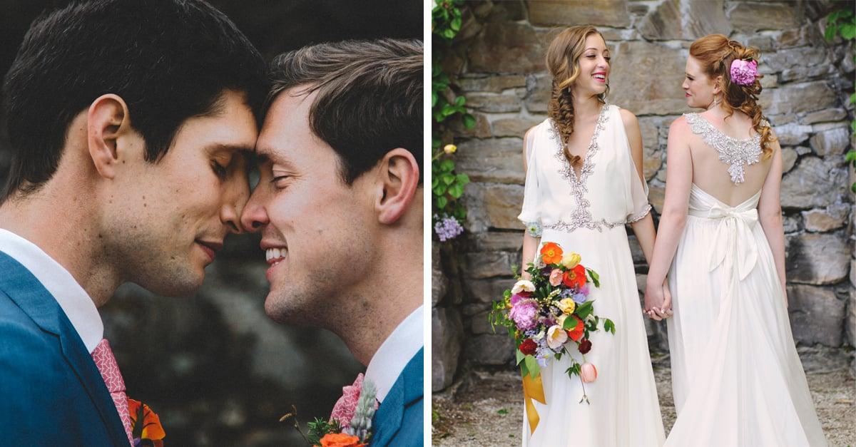 30 Fotos de matrimonios LGBT que demuestran que el amor es maravilloso