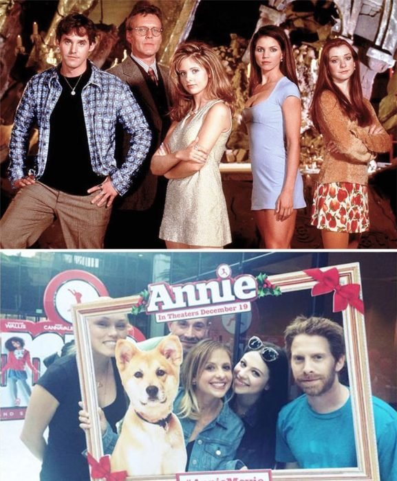 elenco buffy antes y despues