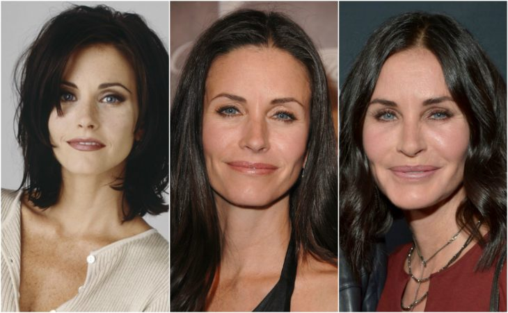 cirugia transformación courtney cox