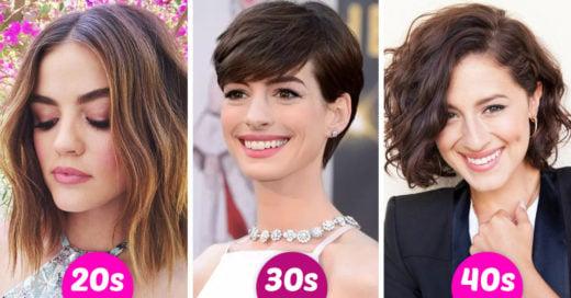 Cortes de cabello que tienes que intentar dependiendo de tu edad