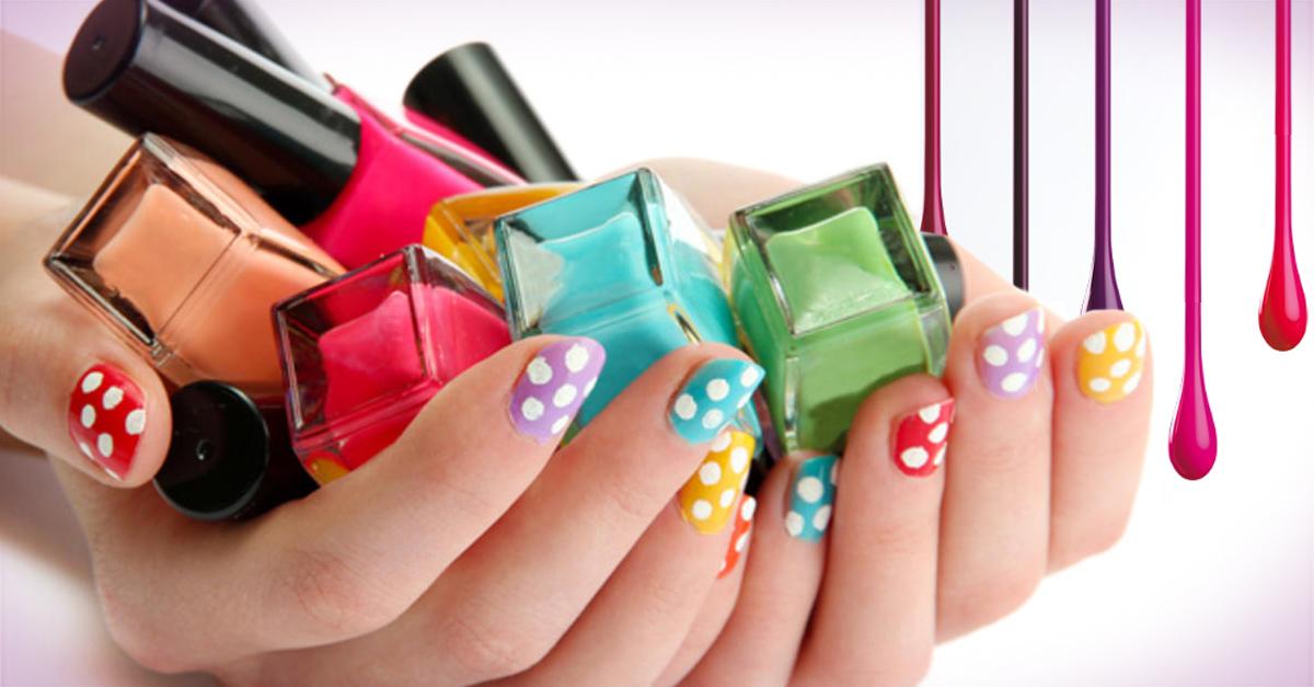 Crea tus propios colores de barniz de uñas
