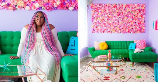 Esta chica transformó su departamento en un paraíso para los Unicornios