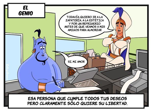 caricatura de Aladdin