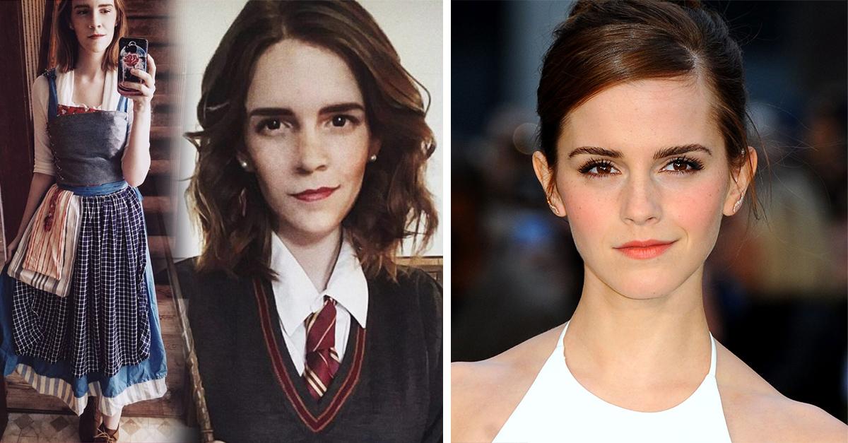 Emma Watson tiene una doble exacta: es una mamá común y corriente; Internet no cree el parecido