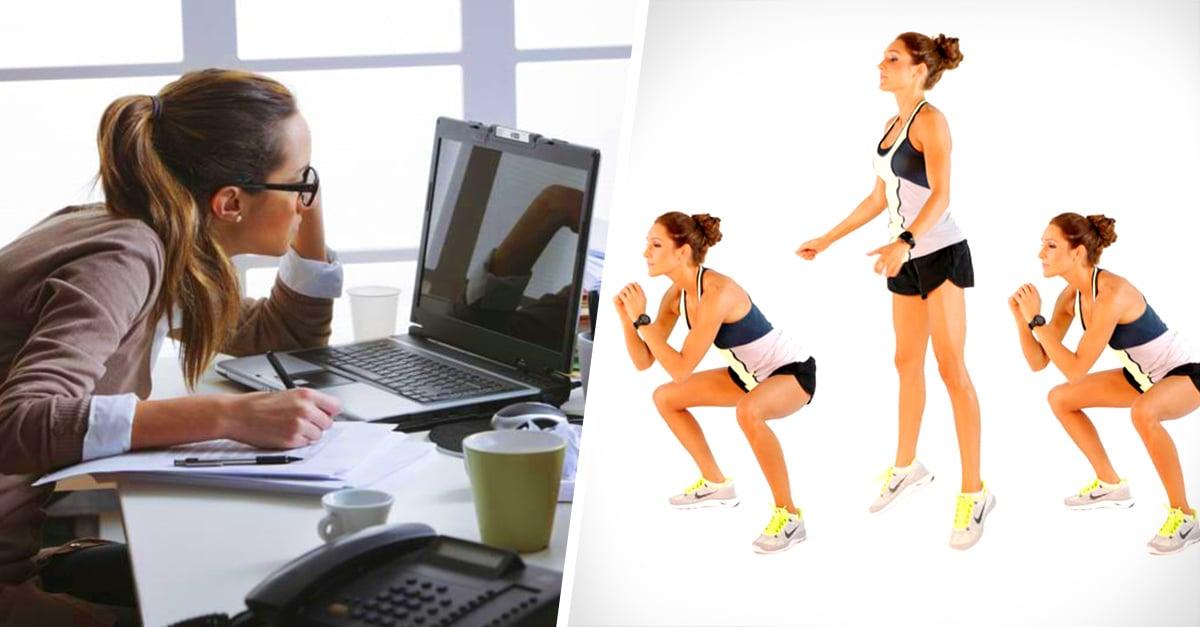9 Ejercicios para mejorar tu postura si trabajas todo el día sentada