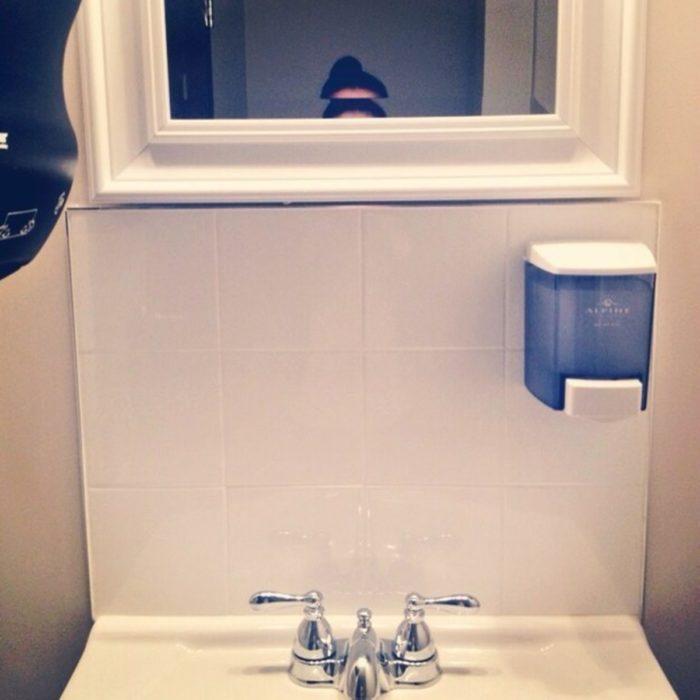 espejo mujer y cabeza