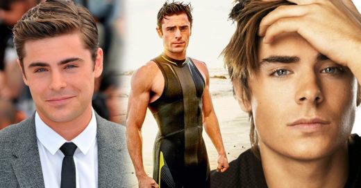 19 Imágenes solo para recordar lo hermoso que ha sido ver crecer a Zac Efron