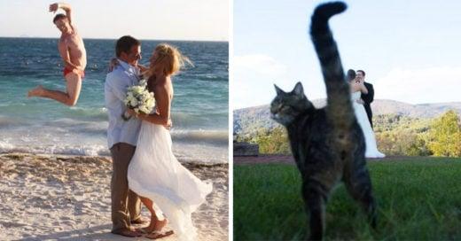 25 Graciosos momentos en una boda captados por la cámara