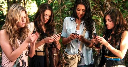 portada chicas con celular