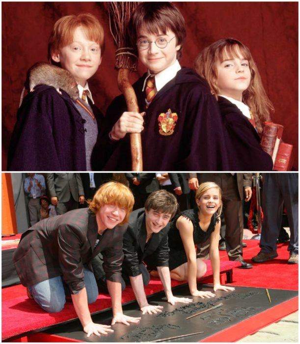 harry potter ayer y hoy