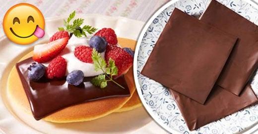 Rebanadas de chocolate son una realidad y la vida no será lo mismo