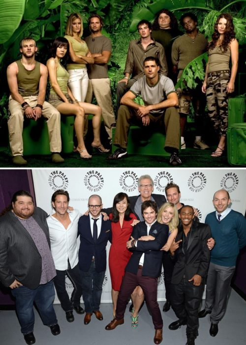 lost cast before and after