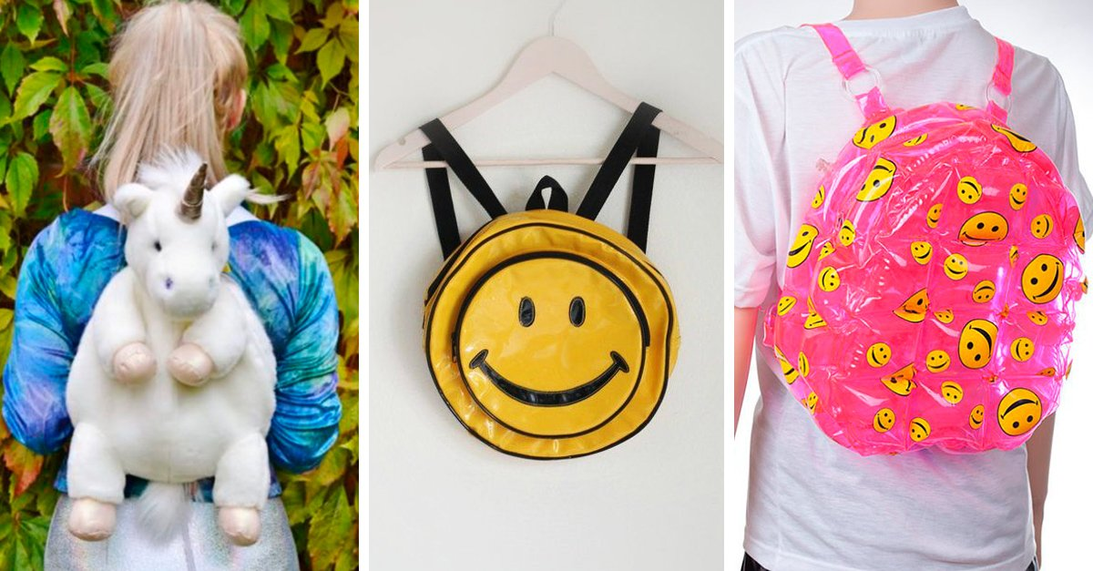15 Bolsos y mochilas que te harán volver a tu infancia
