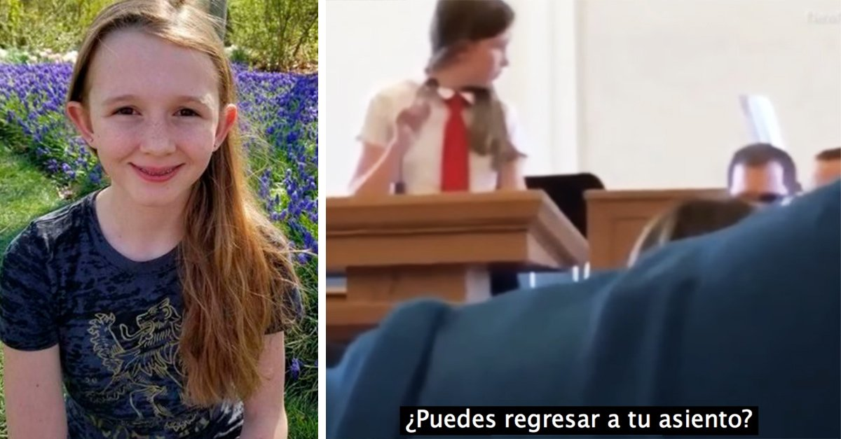 Una niña estaba a punto de declararse lesbiana en público de pronto algo pasó con el micrófono