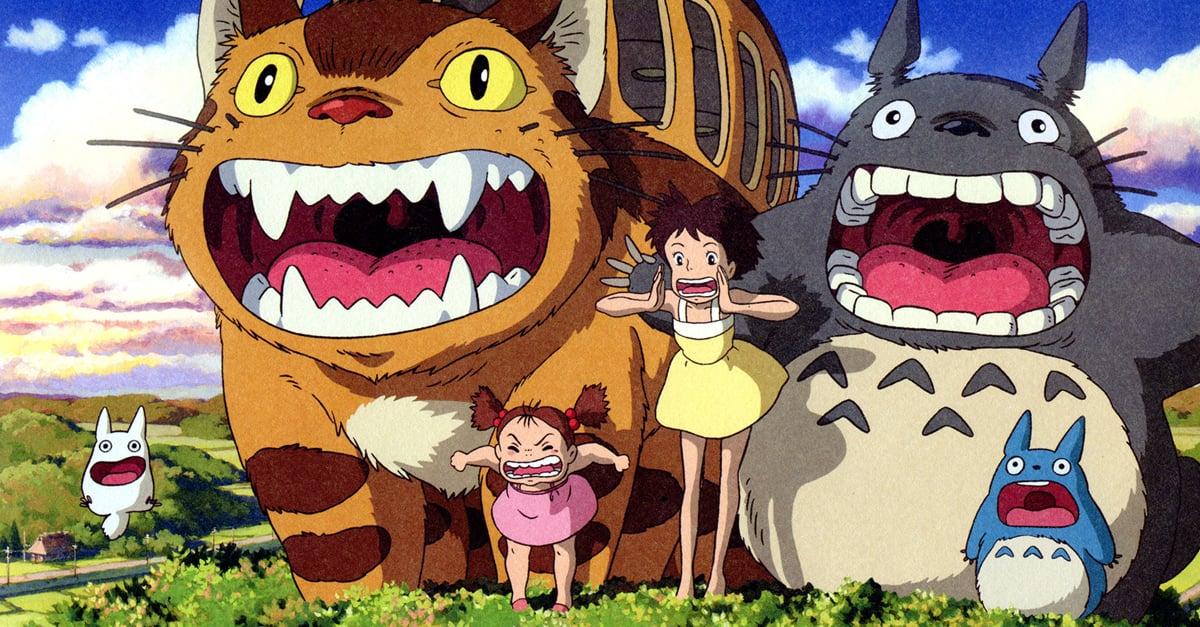 Abrirán un parque temático dedicado a Totoro
