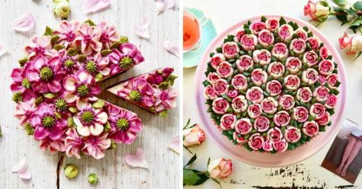 ¡Increíble! Estas rosas son en realidad deliciosos pasteles veganos; no querrás comerlos