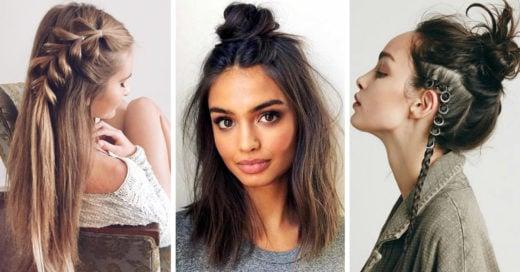 16 Peinados para esos días de nostalgia en los que quieres lucir más joven