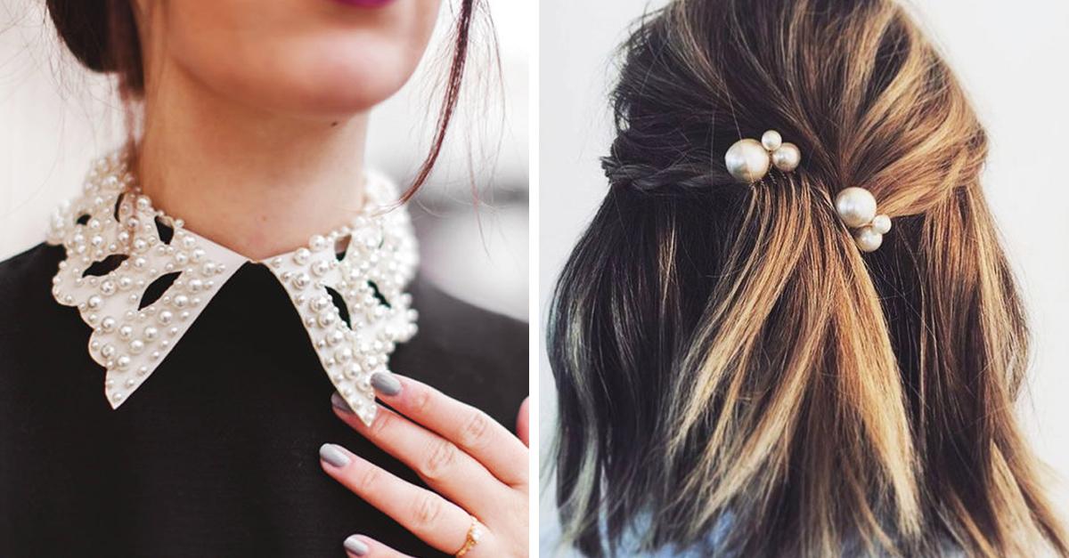 11 Imágenes para recordar que las perlas son un 'clásico' que funciona para todas