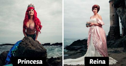 Este es el aspecto de las princesas de Disney varios años después de convertirse en reinas