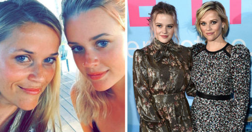 Lucen como dos gotas de agua, Reese Witherspoon y su hija Ava Phillippe
