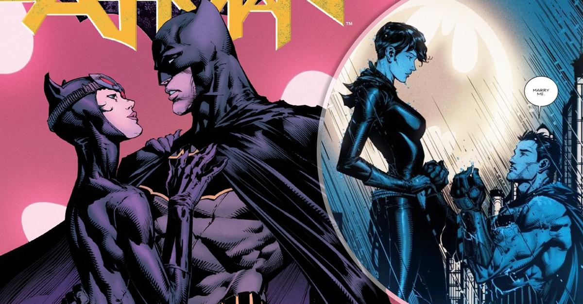 Después de 75 años de relación Batman le pide matrimonio a Gatúbela