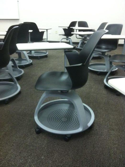 sillas con rueditas