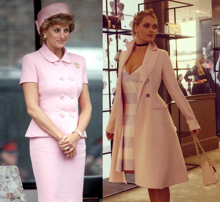 Lady Di en comparación con su sobrina Kitty Spencer