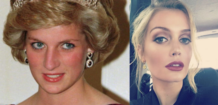 Lady Di en comparación con su sobrina Kitty Spencer