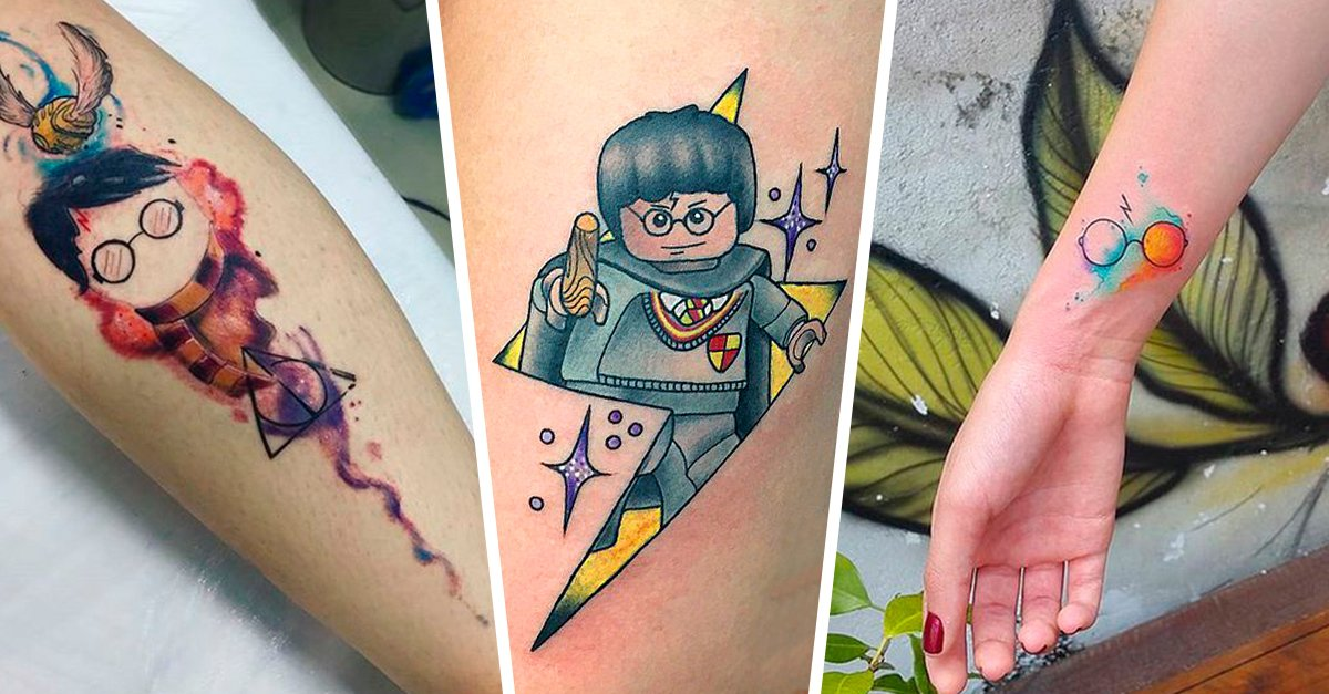 20 Tatuajes inspirados en Harry Potter que Internet desconocía