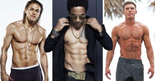 Los torsos más sensuales de los famosos