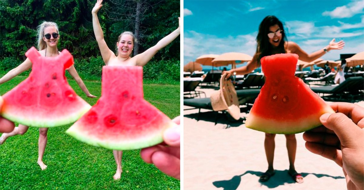 Watermelon Dress la nueva tendencia de moda de Instagram