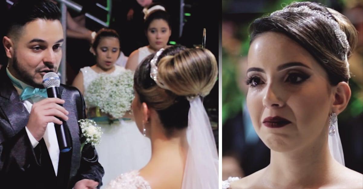 Este hombre admite que ama a alguien más en el altar y la novia no puede creerlo