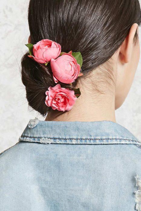 flores en chongo