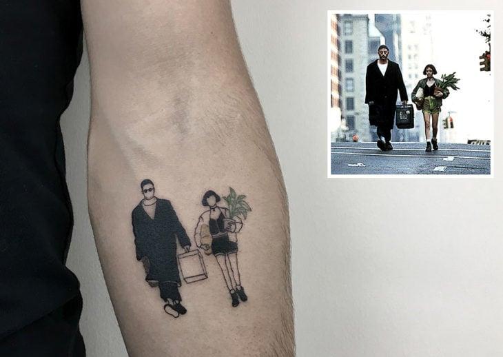 Leon The Professional tattoo