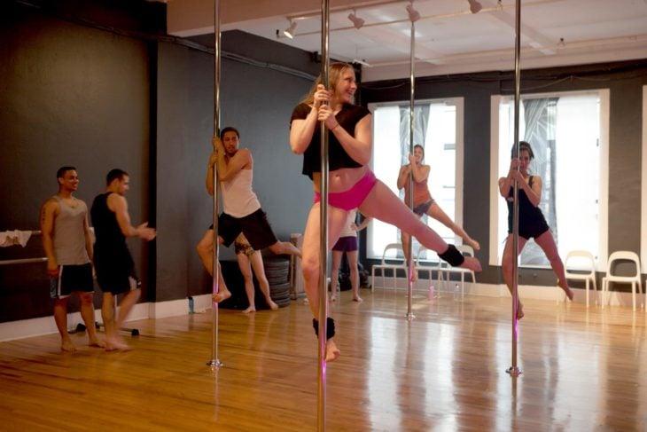 pole dance clase