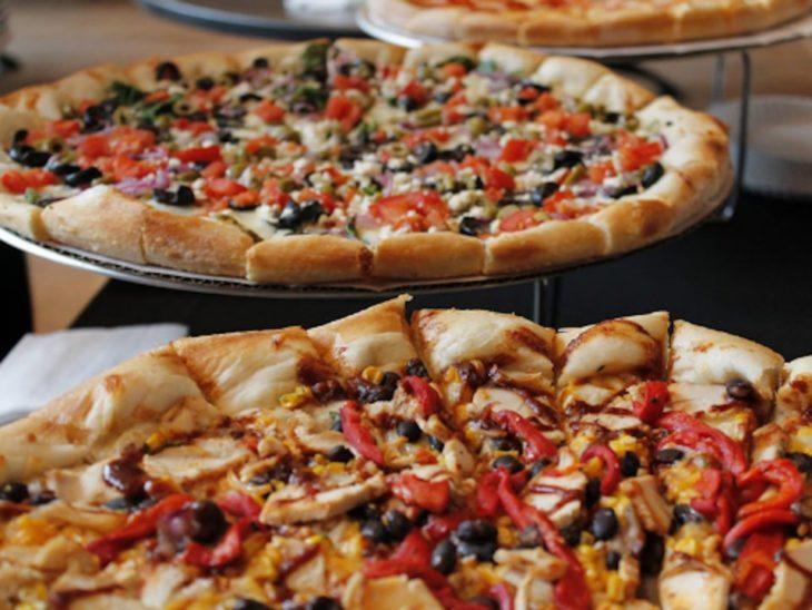 pizza doble corte