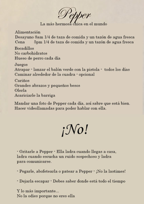 reglas de pepper