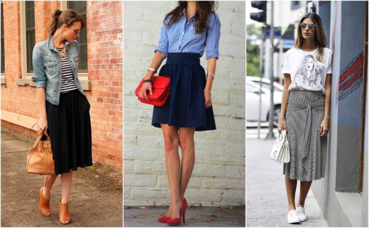 falda outfit