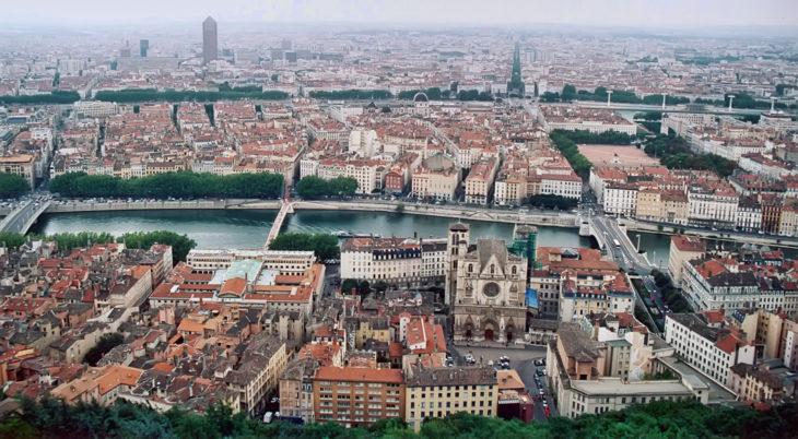 Lyon, francia