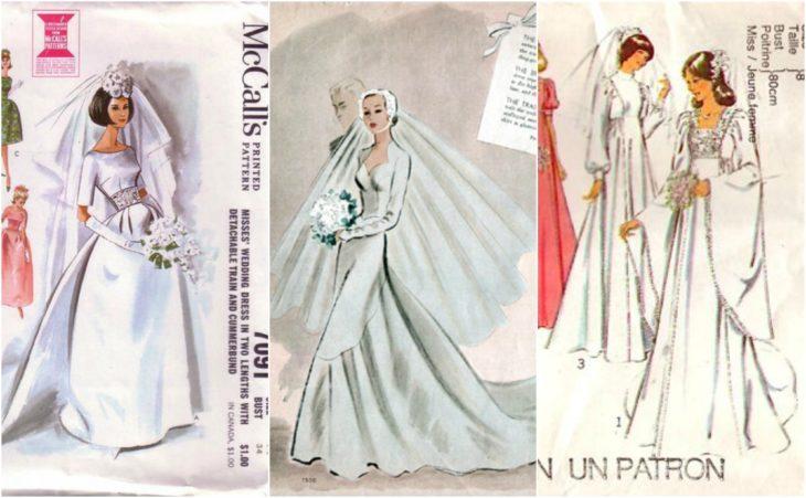 vestidos de novia patrones