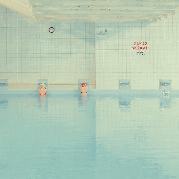 slovaquia, bratislava piscina